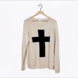 Forever 21 Cross Sweater